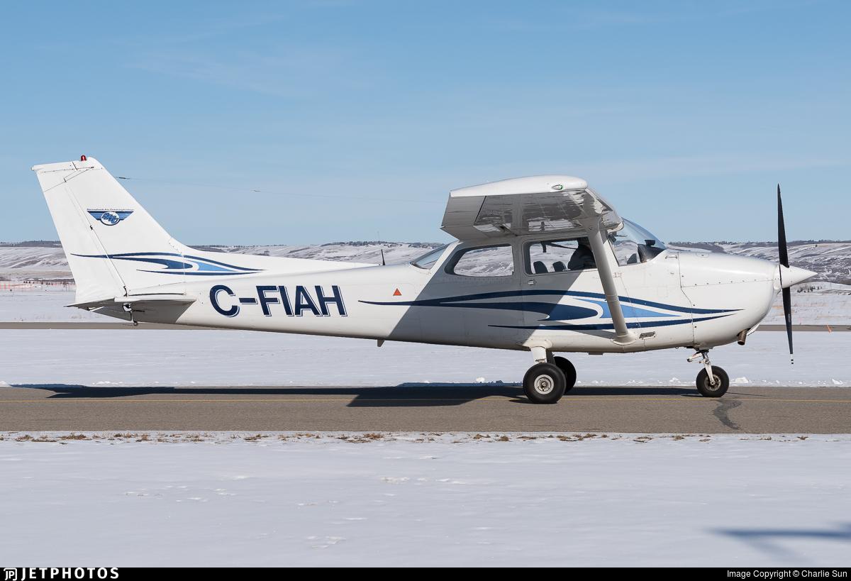 C-FIAH - Cessna 172N Skyhawk II - Springbank Air Training College