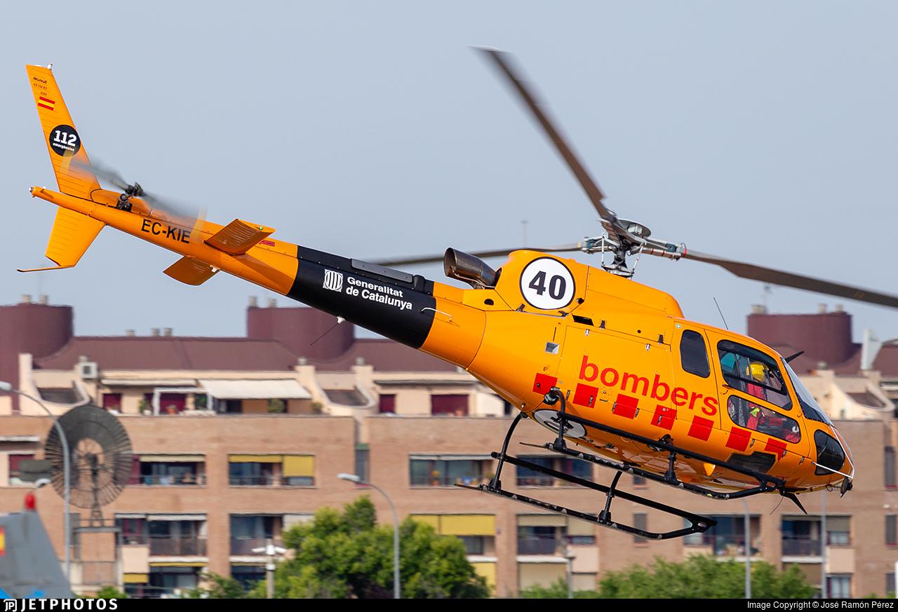 EC-KIE - Aérospatiale AS 350B3 Ecureuil - Babcock MCS Spain