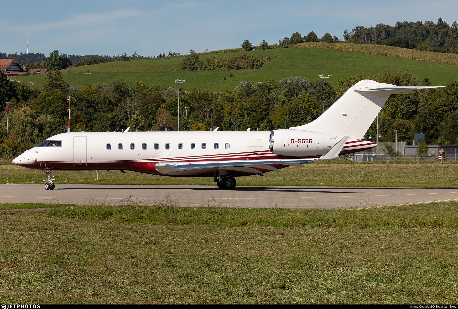 G-SGSG - Bombardier BD-700-1A11 Global 5000 - TAG Aviation UK