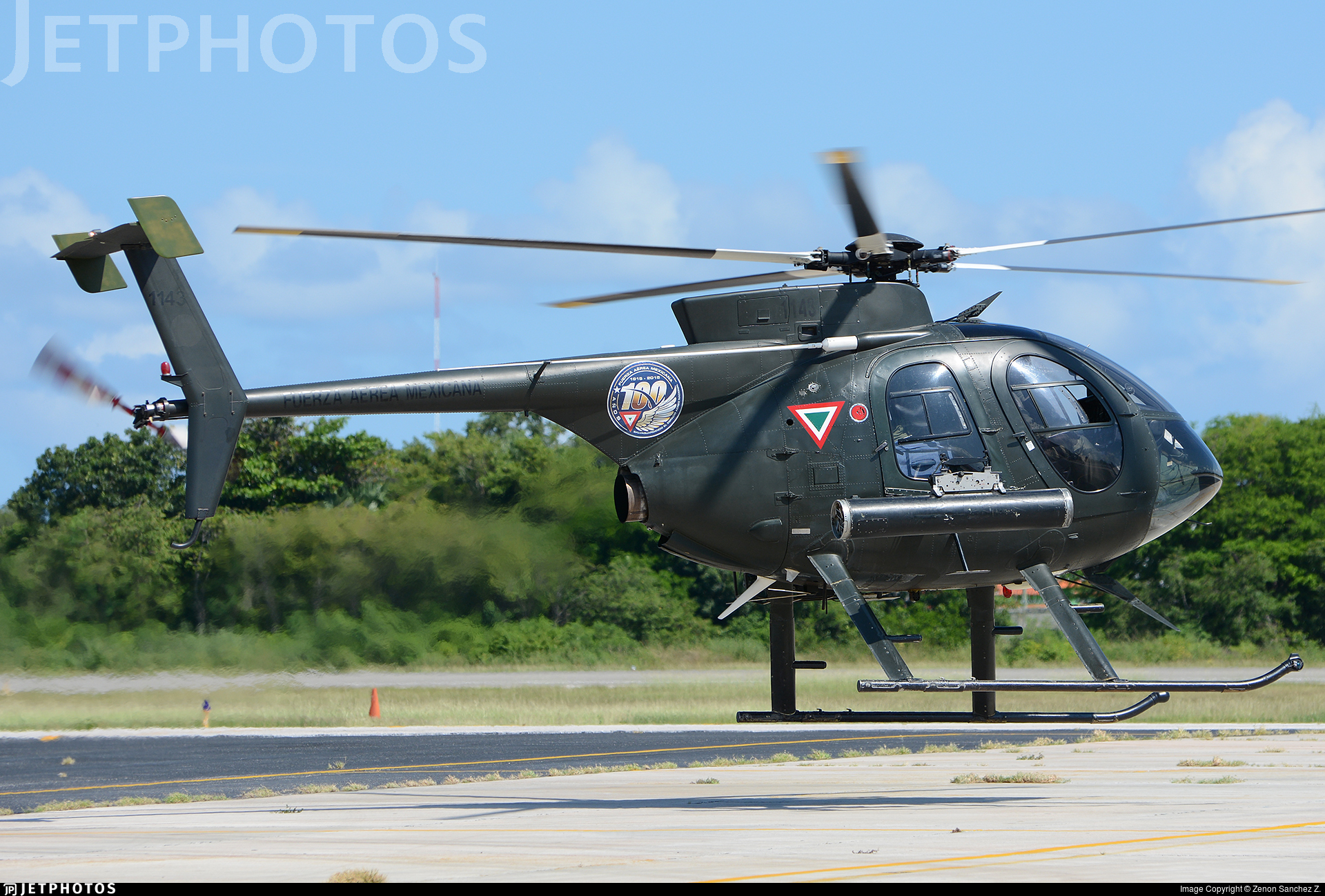 1143 - McDonnell Douglas MD-530FF - Mexico - Air Force