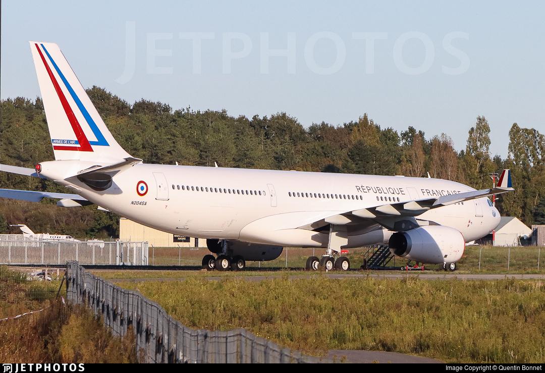 N204SA - Airbus A330-243 - France - Air Force