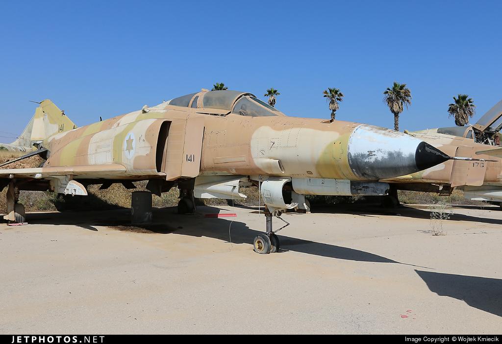 141 - McDonnell Douglas F-4E Phantom II - Israel - Air Force