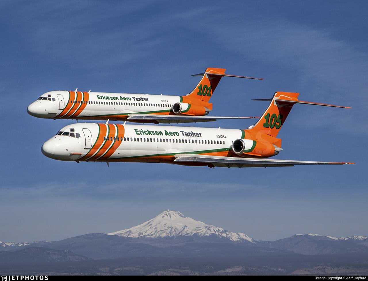 N295EA - McDonnell Douglas MD-87 - Erickson Aero Tanker
