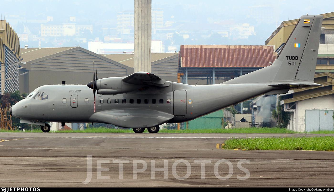 TU-DB-501 - IPTN CN-235-220 - Brunei - Air Force