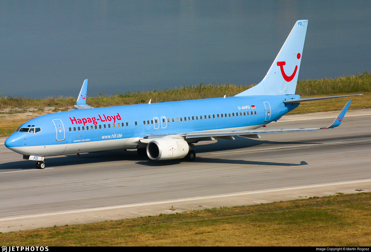 D-AHFD - Boeing 737-8K5 - Hapag-Lloyd