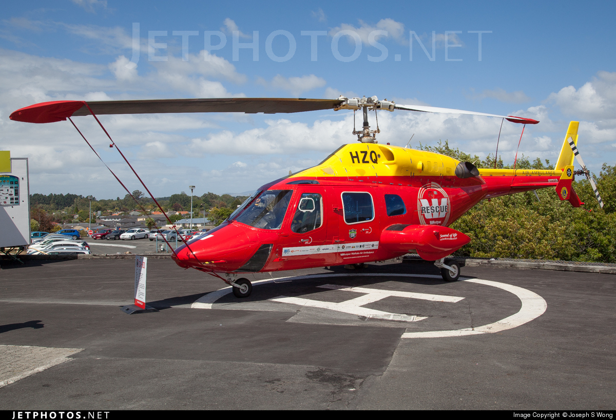 ZK-HZQ - Bell 222B - Phillips Search & Rescue