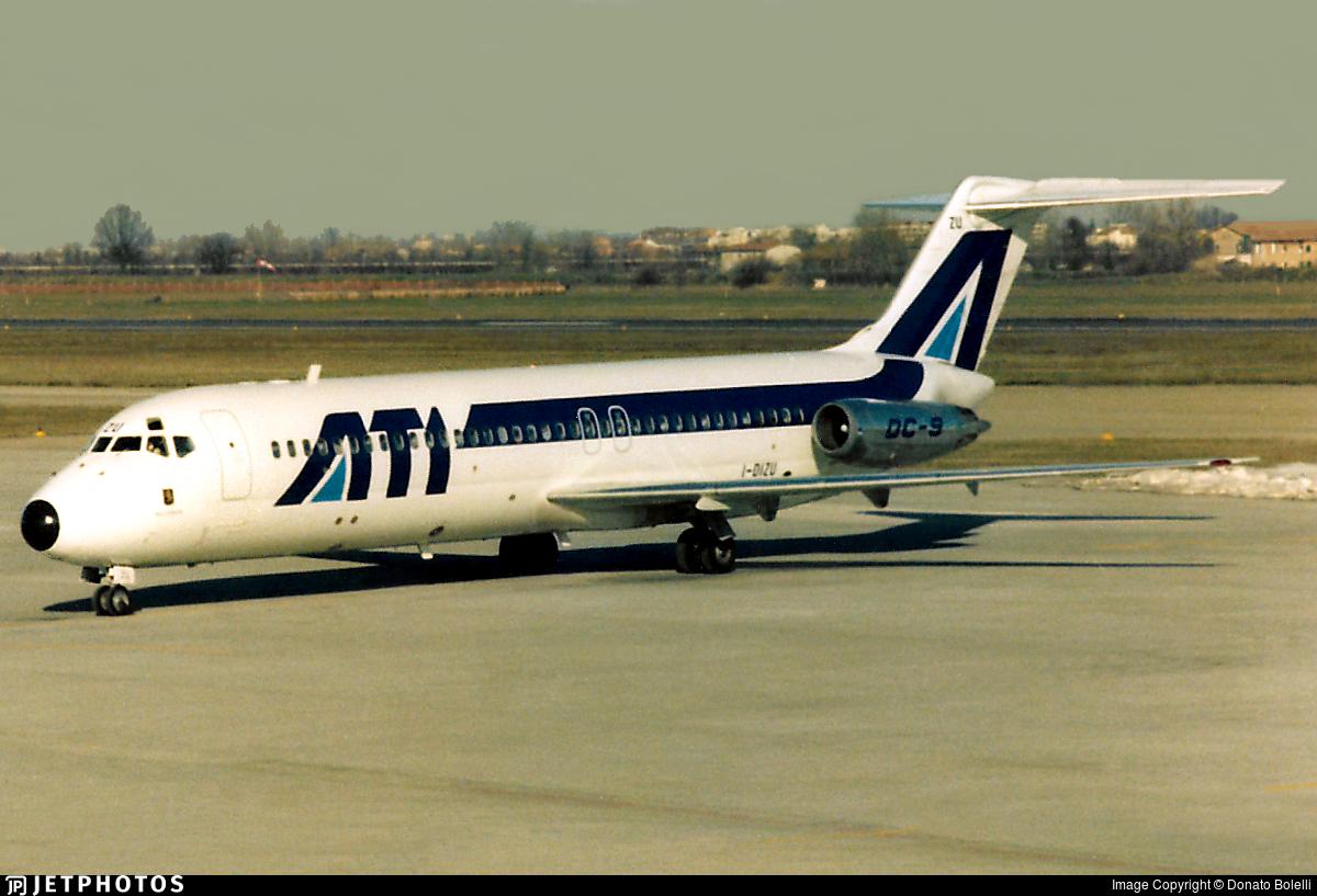 I-DIZU - McDonnell Douglas DC-9-32 - ATI Aero Trasporti Italiani