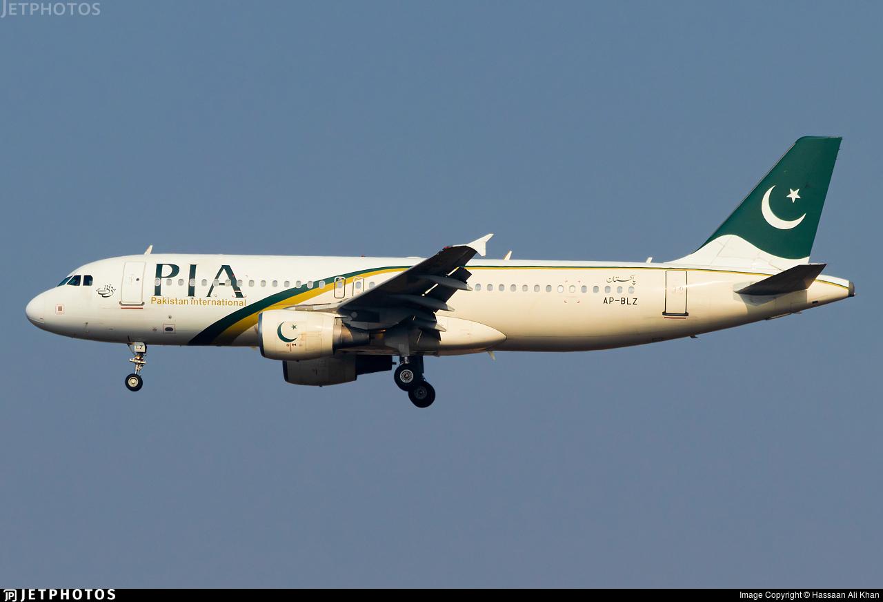 AP-BLZ - Airbus A320-216 - Pakistan International Airlines (PIA)