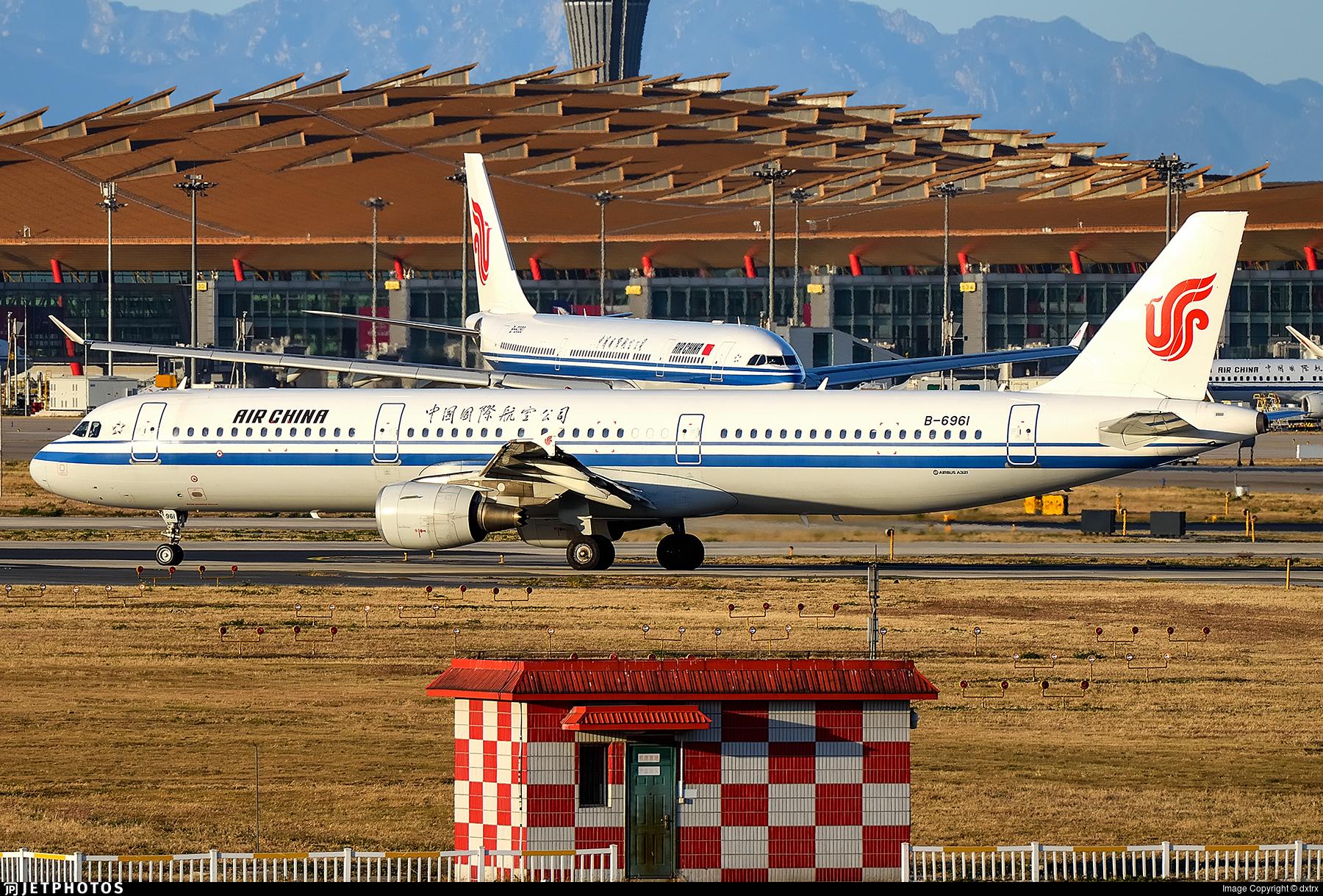 B-6961 - Airbus A321-213 - Air China