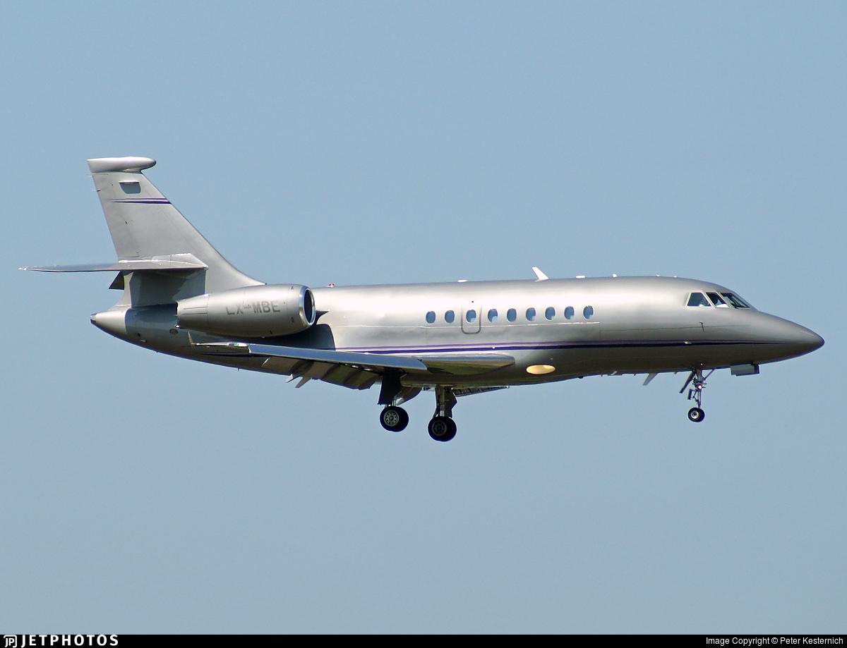 LX-MBE - Dassault Falcon 2000 - Private