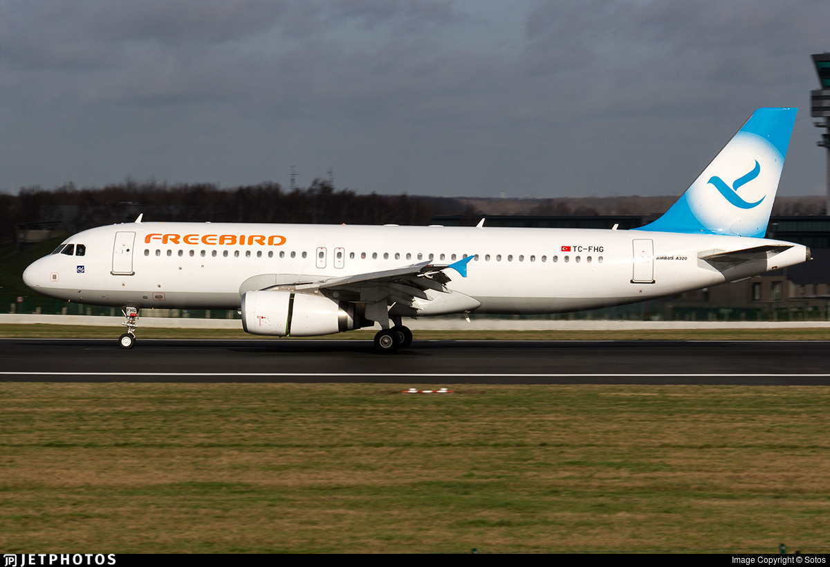 TC-FHG - Airbus A320-232 - Freebird Airlines