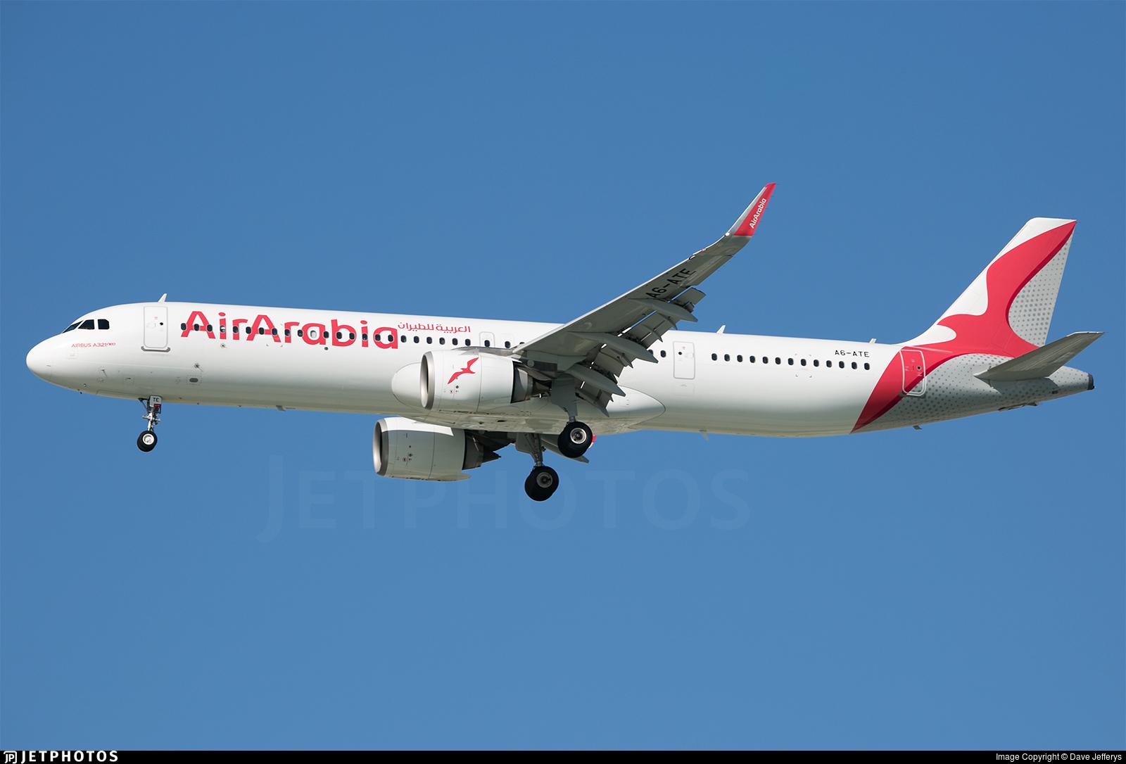 A6-ATE - Airbus A321-251NX - Air Arabia