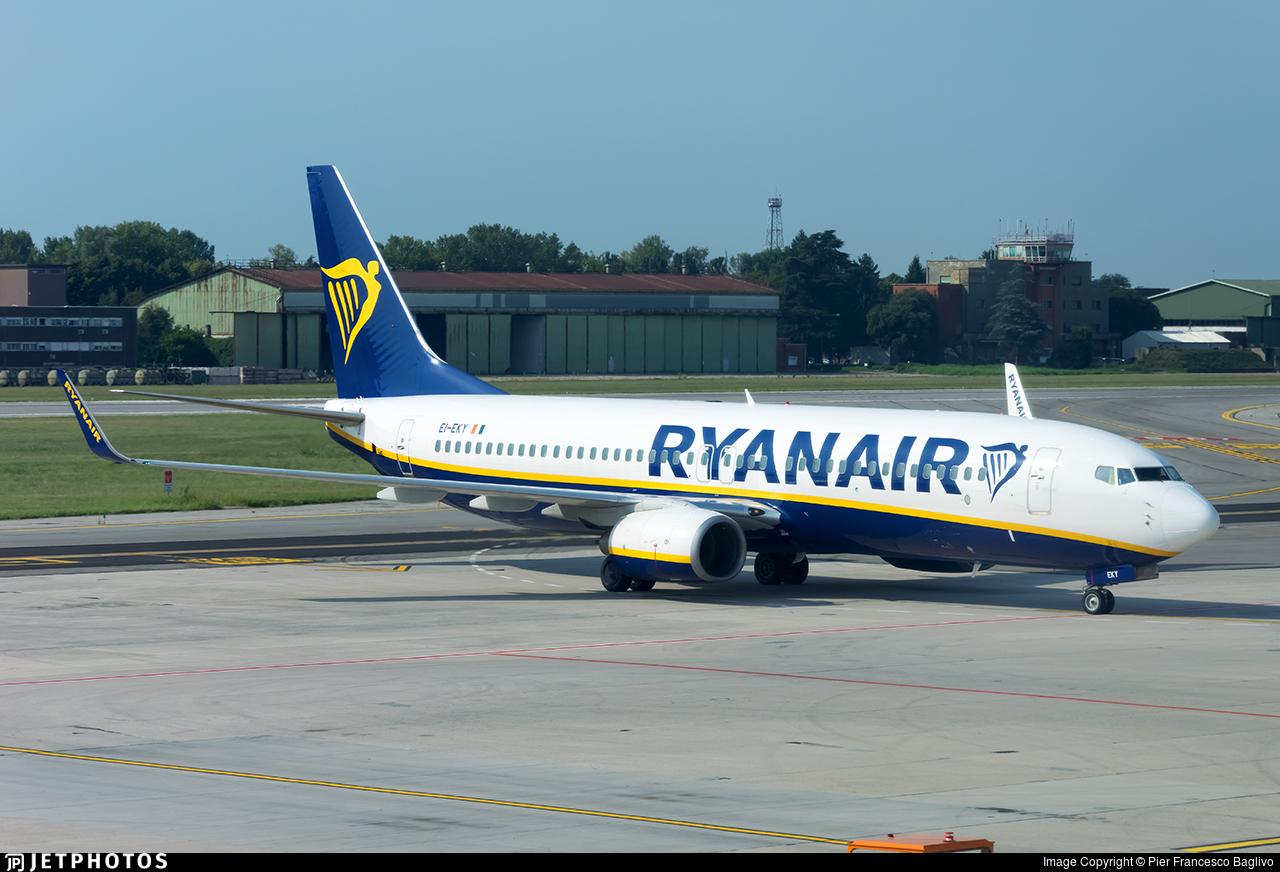 EI-EKY - Boeing 737-8AS - Ryanair