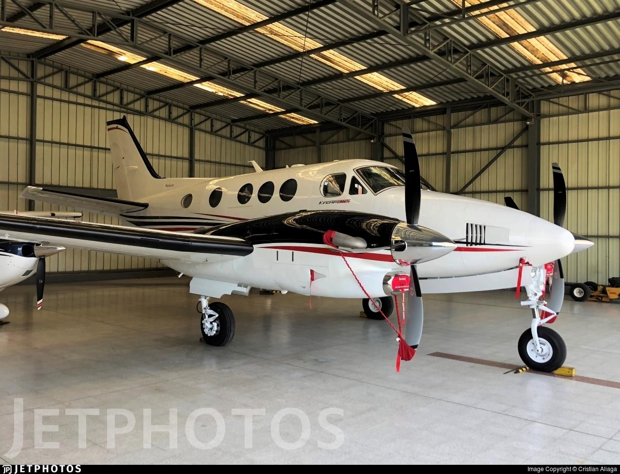 N610LL - Beechcraft C90GTx King Air - Private