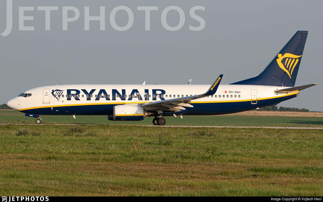 9H-QAU - Boeing 737-8AS - Ryanair (Malta Air)