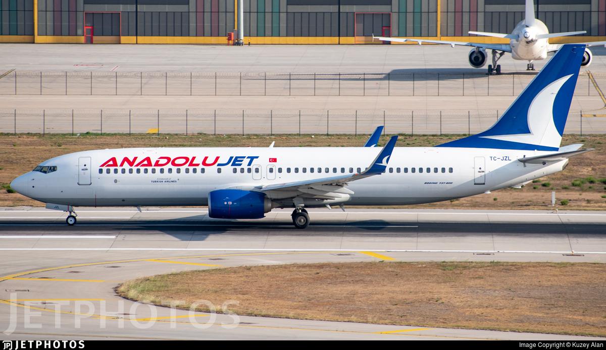 TC-JZL - Boeing 737-8AS - AnadoluJet