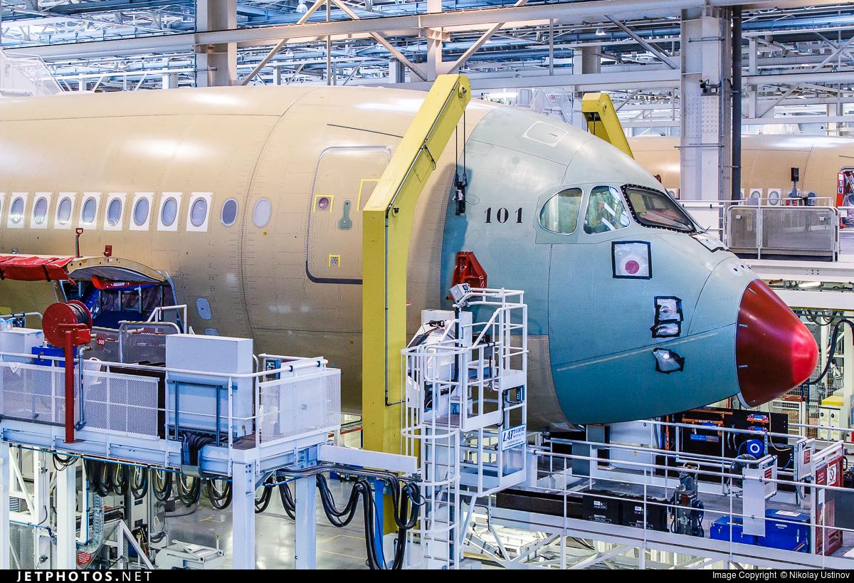 F-WZFX - Airbus A350-941 - Airbus Industrie