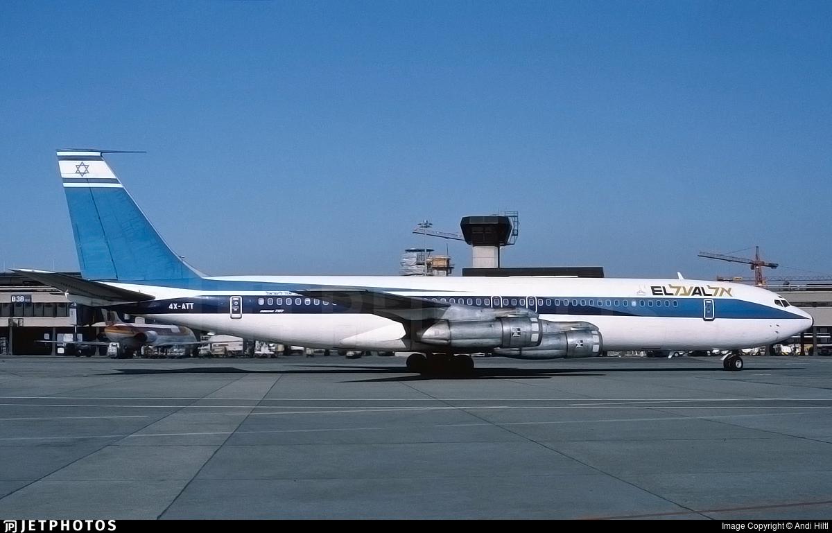 4X-ATT - Boeing 707-358C - El Al Israel Airlines