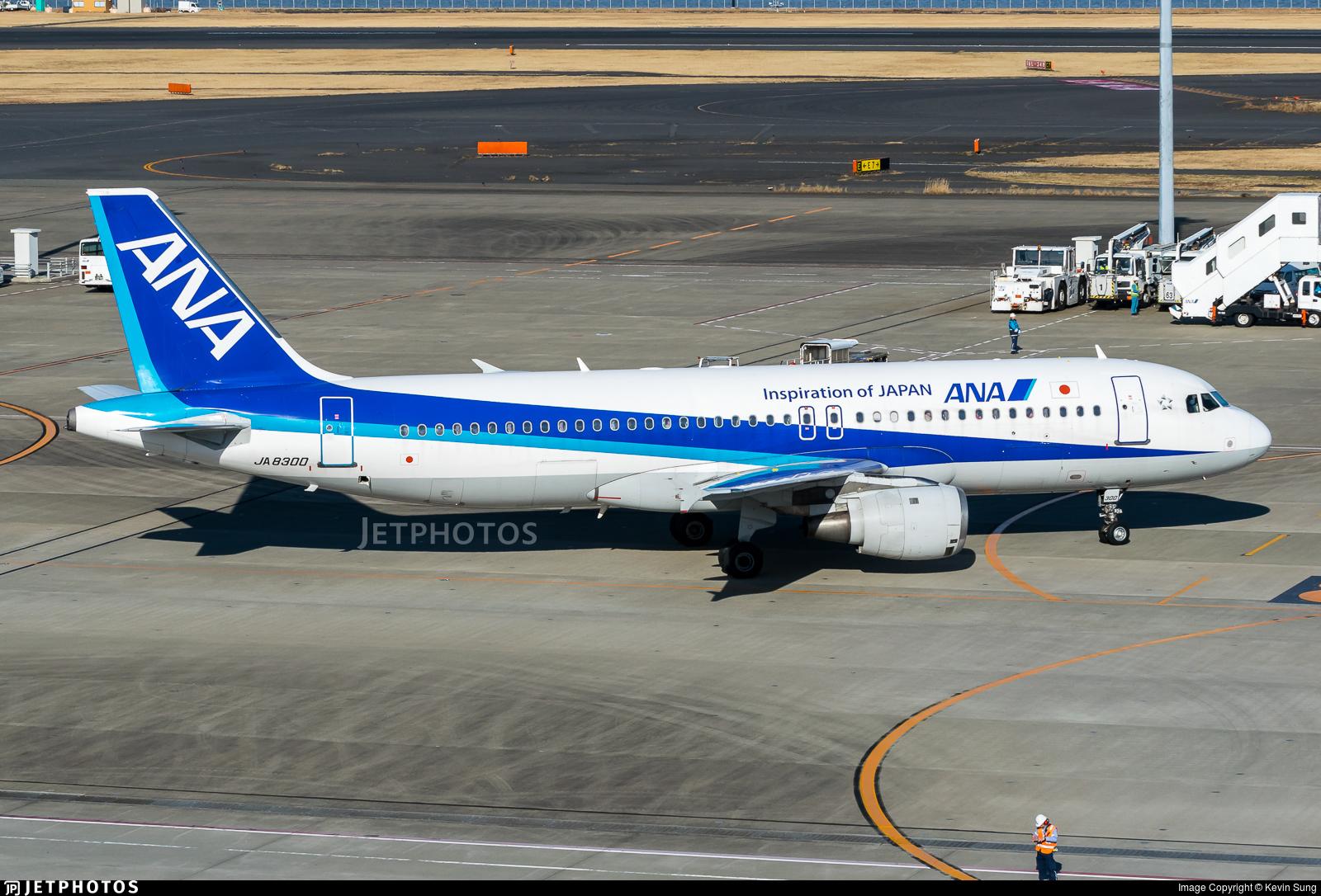 JA8300 - Airbus A320-211 - All Nippon Airways (ANA)