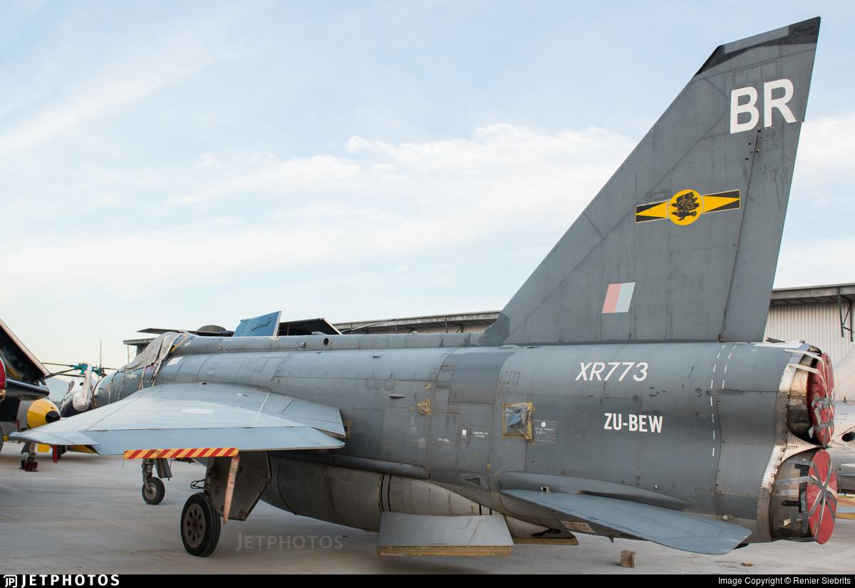 ZU-BEW - English Electric Lightning F.6 - Thunder City