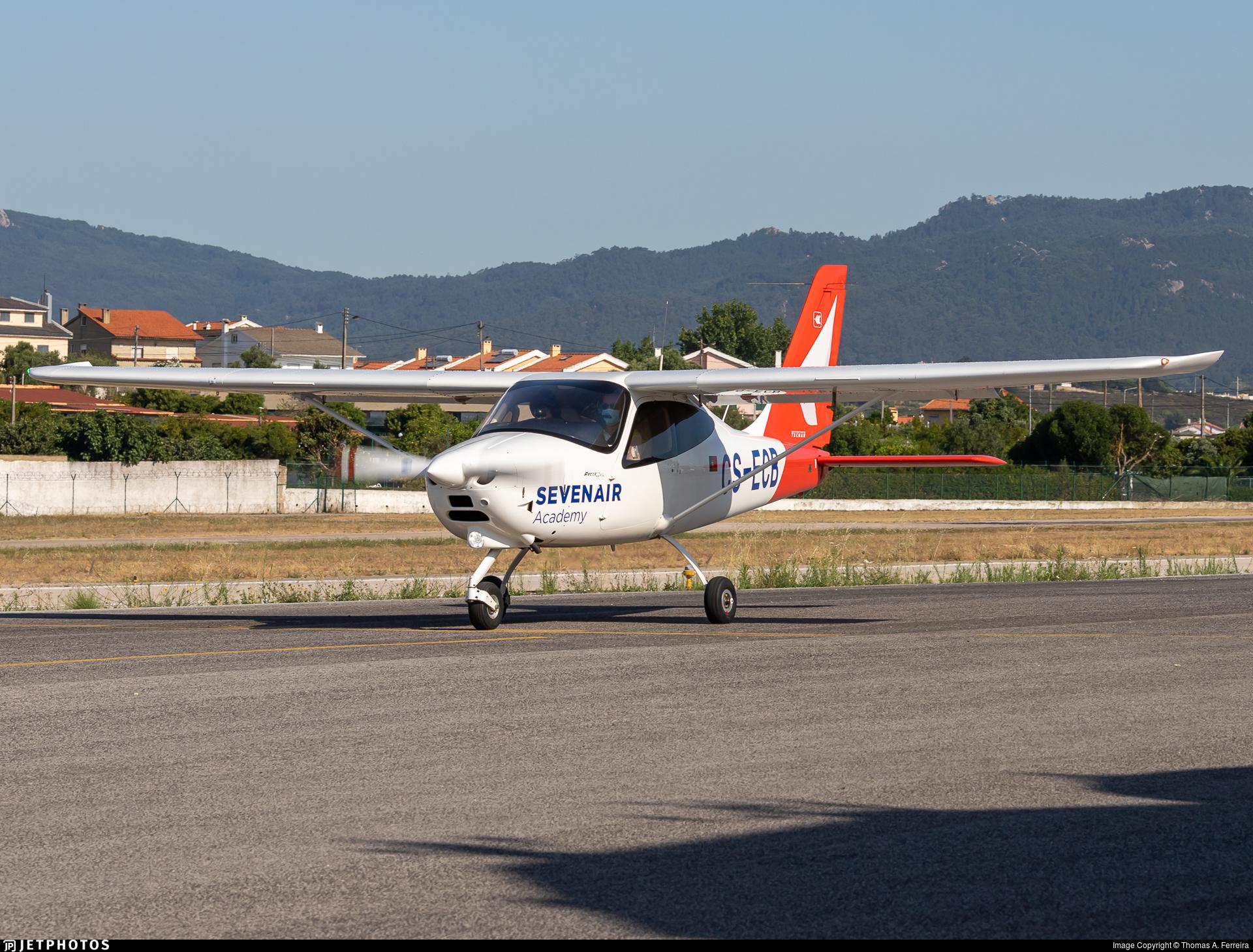 CS-ECB - Tecnam P2008JC MkII - Seven Air