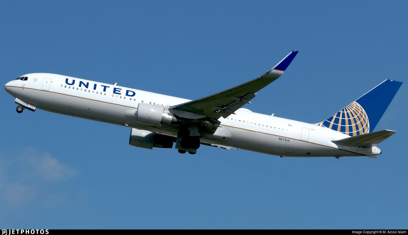 N673UA - Boeing 767-322(ER) - United Airlines