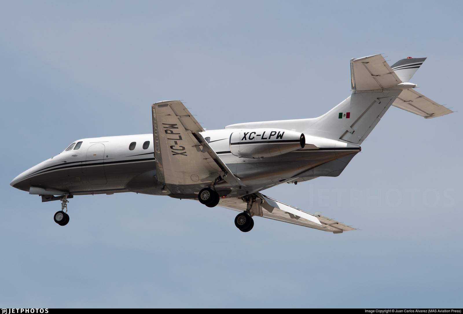 XC-LPW - British Aerospace BAe 125-700A - Mexico - Government
