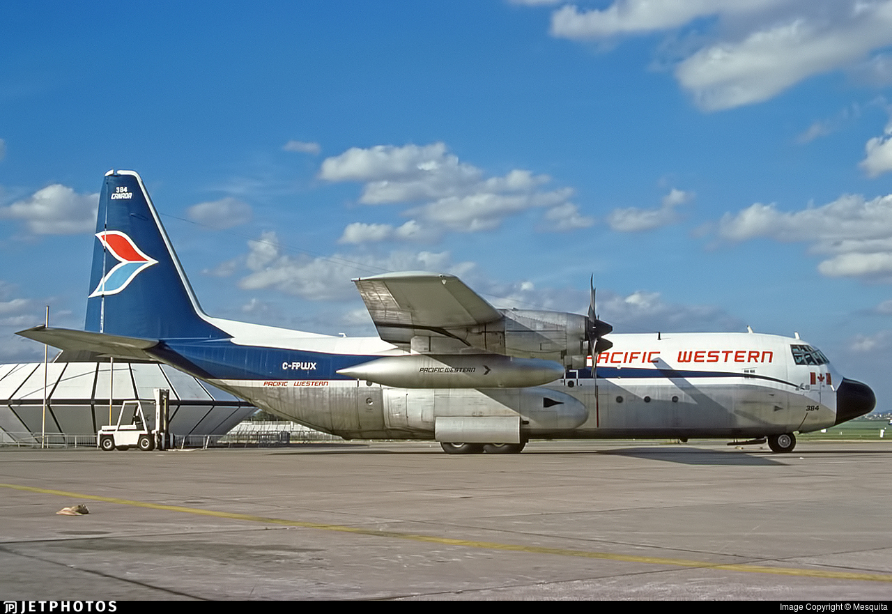 C-FPWX - Lockheed L-100-20 Hercules - Pacific Western Airlines