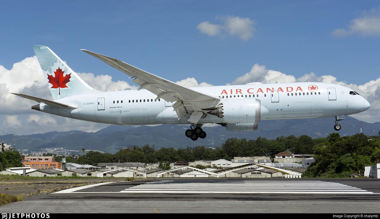 C-GHPU - Boeing 787-8 Dreamliner - Air Canada