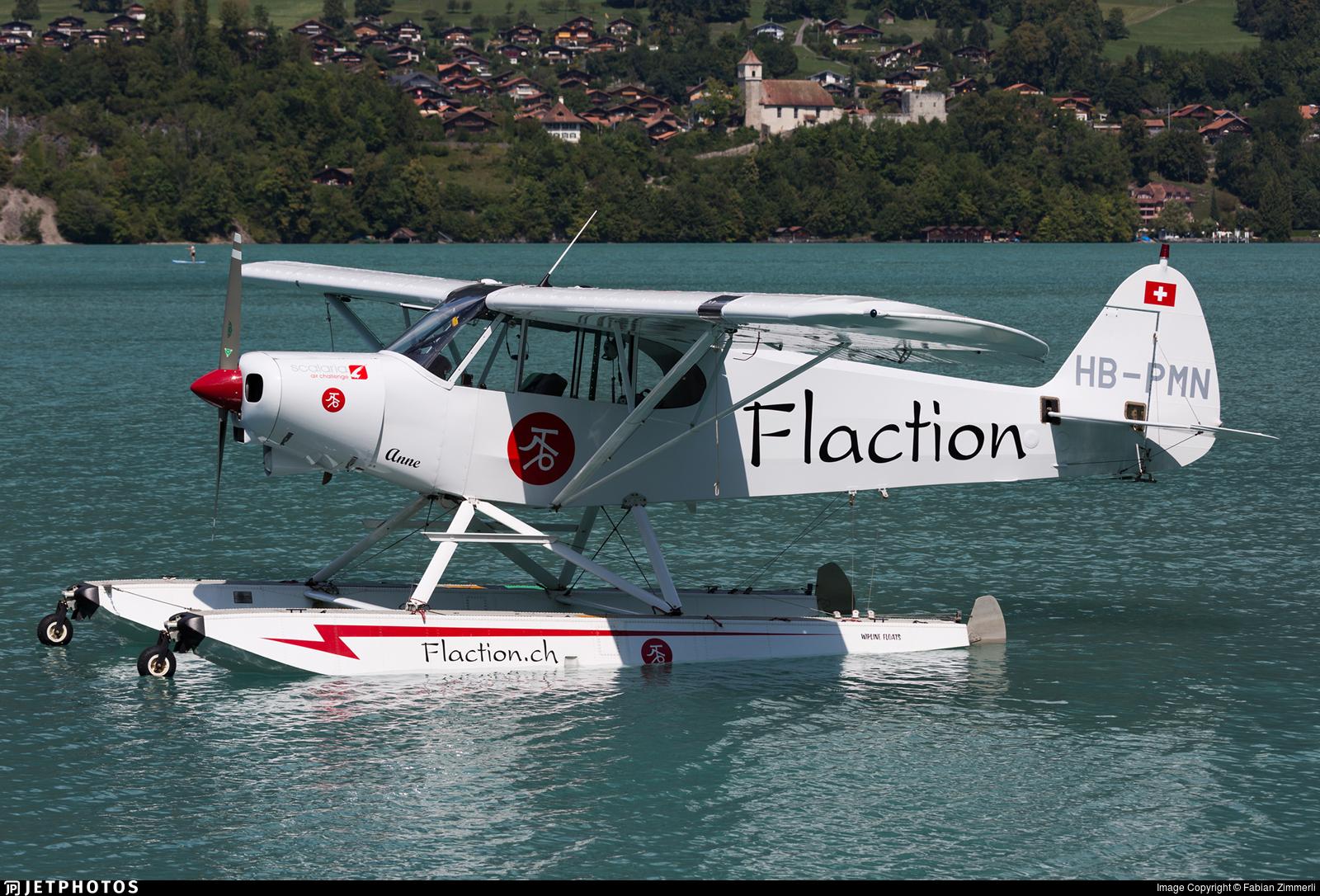 HB-PMN - Piper PA-18-150 Super Cub - Private