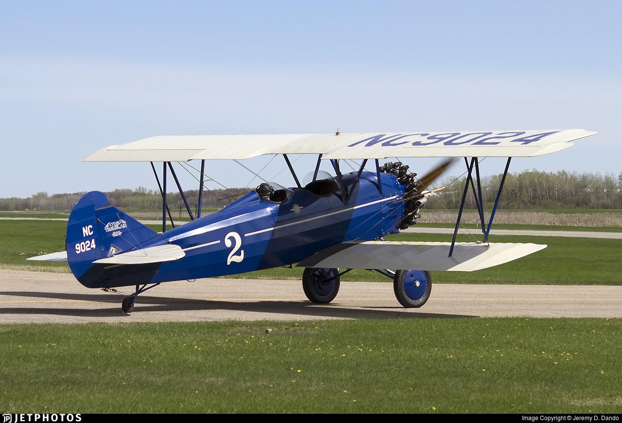 N9024 - Curtiss-Wright Travel Air 4000 - Private