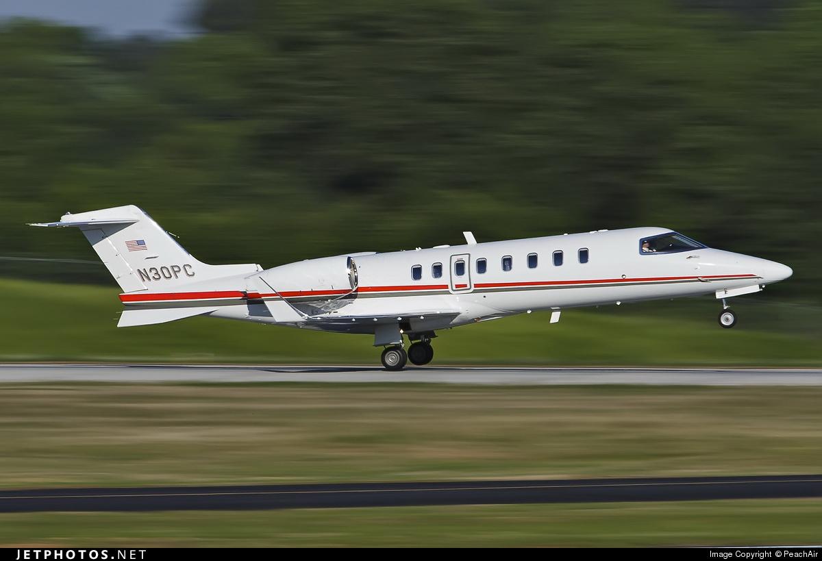 N30PC - Bombardier Learjet 45 - Private