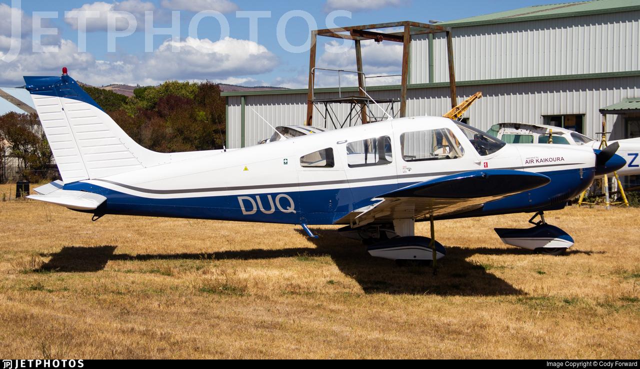 ZK-DUQ - Piper PA-28-180 Archer - Aero Club - Kaikoura