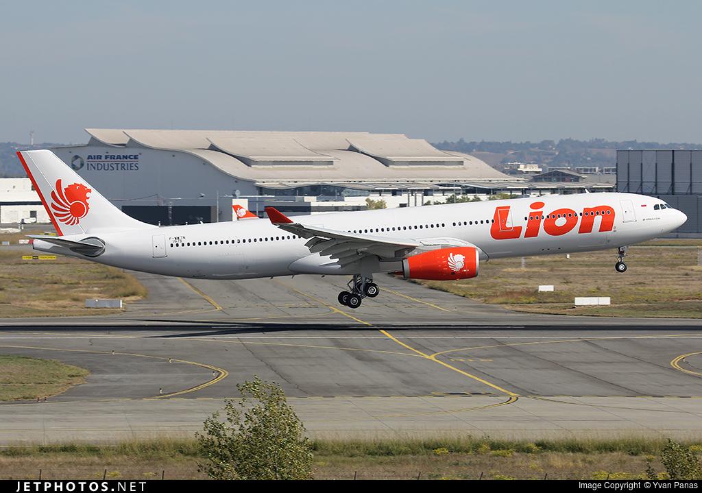 F-WWTN - Airbus A330-343 - Lion Air