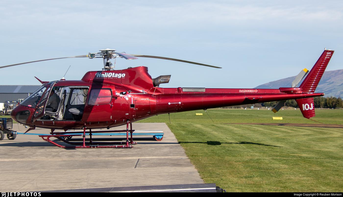 ZK-IOJ - Aérospatiale AS 350B3 Ecureuil - Otago Airspread