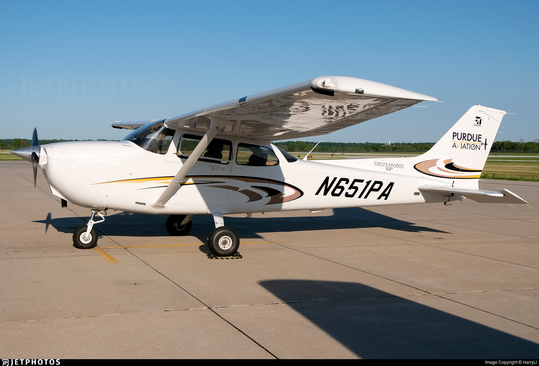 N651PA - Cessna 172S Skyhawk SP - Purdue University