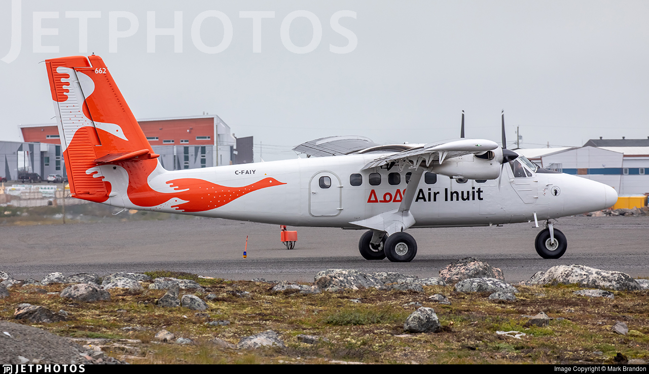 C-FAIY - De Havilland Canada DHC-6-300 Twin Otter - Air Inuit