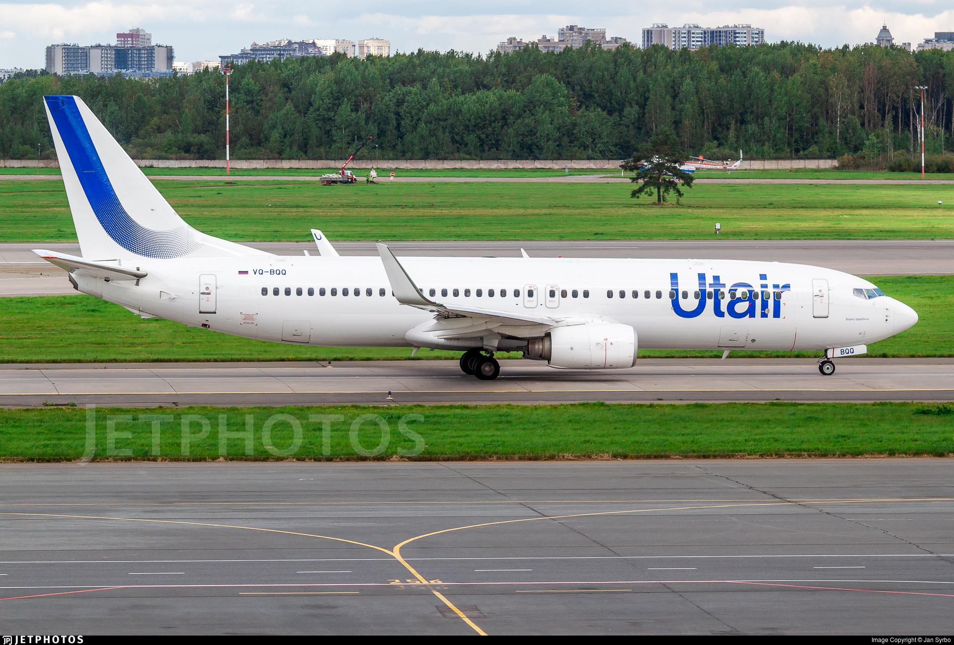 VQ-BQQ - Boeing 737-8GU - UTair Aviation