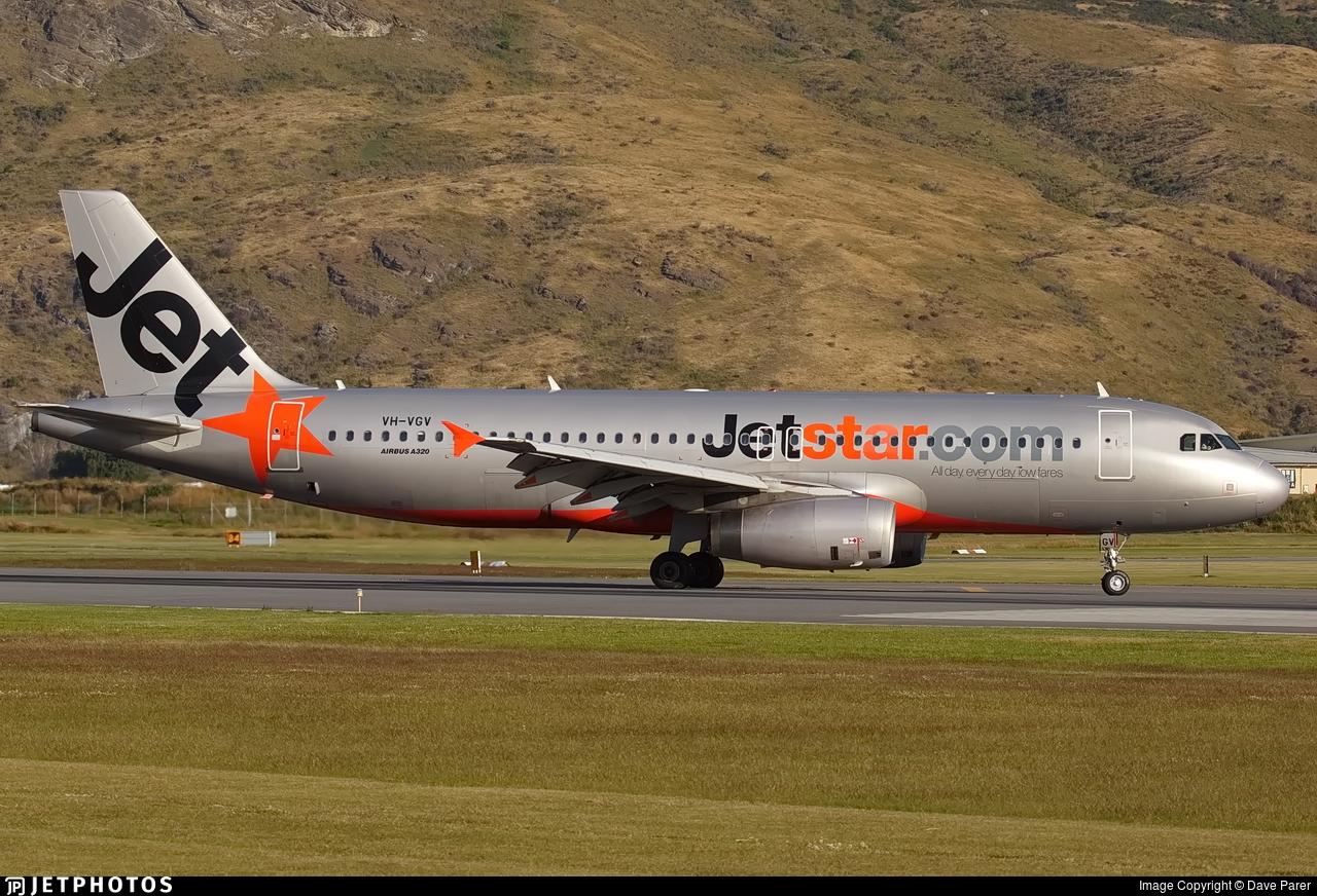 VH-VGV - Airbus A320-232 - Jetstar Airways