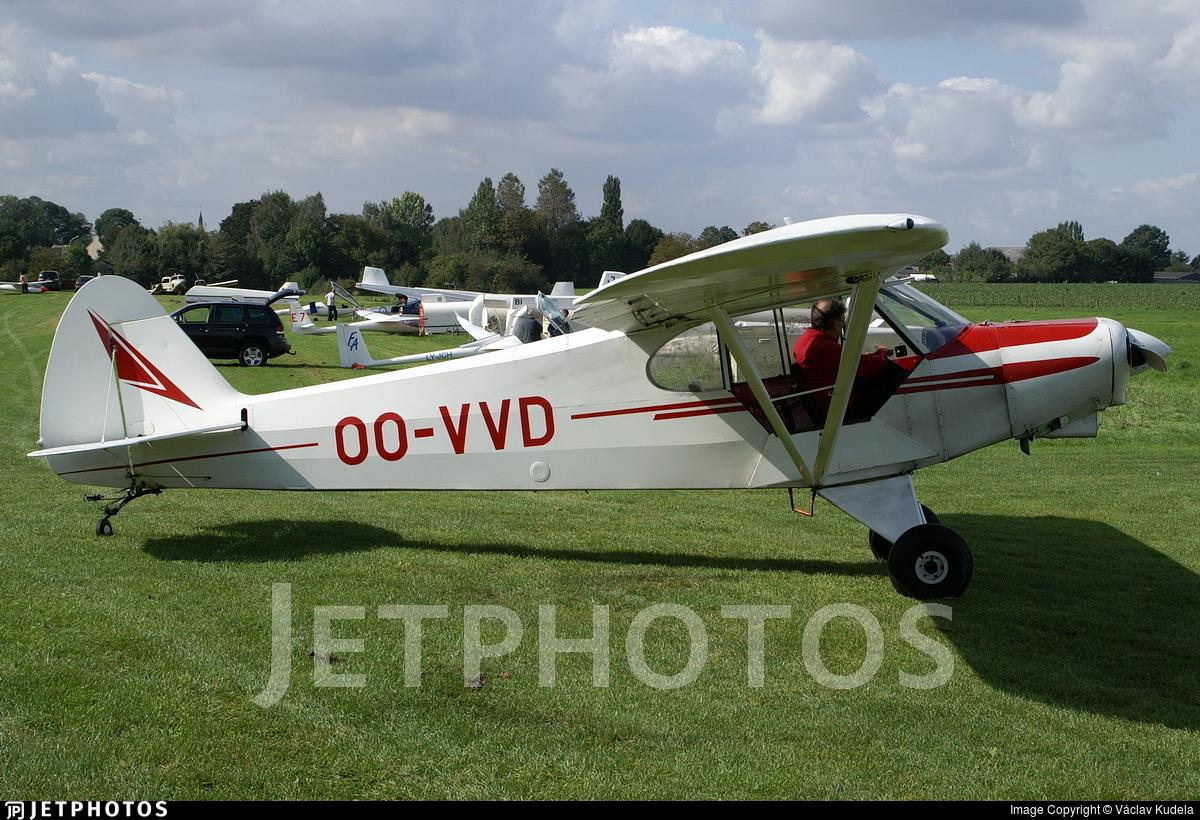 OO-VVD - Piper PA-18-150 Super Cub - Private