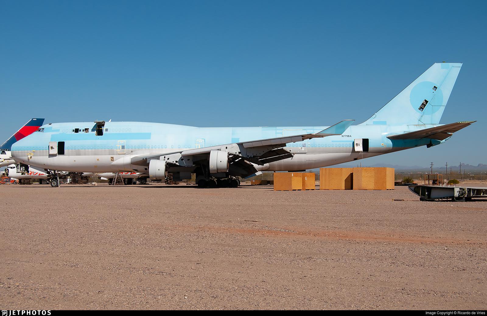 N779BA - Boeing 747-4B5(BCF) - Untitled