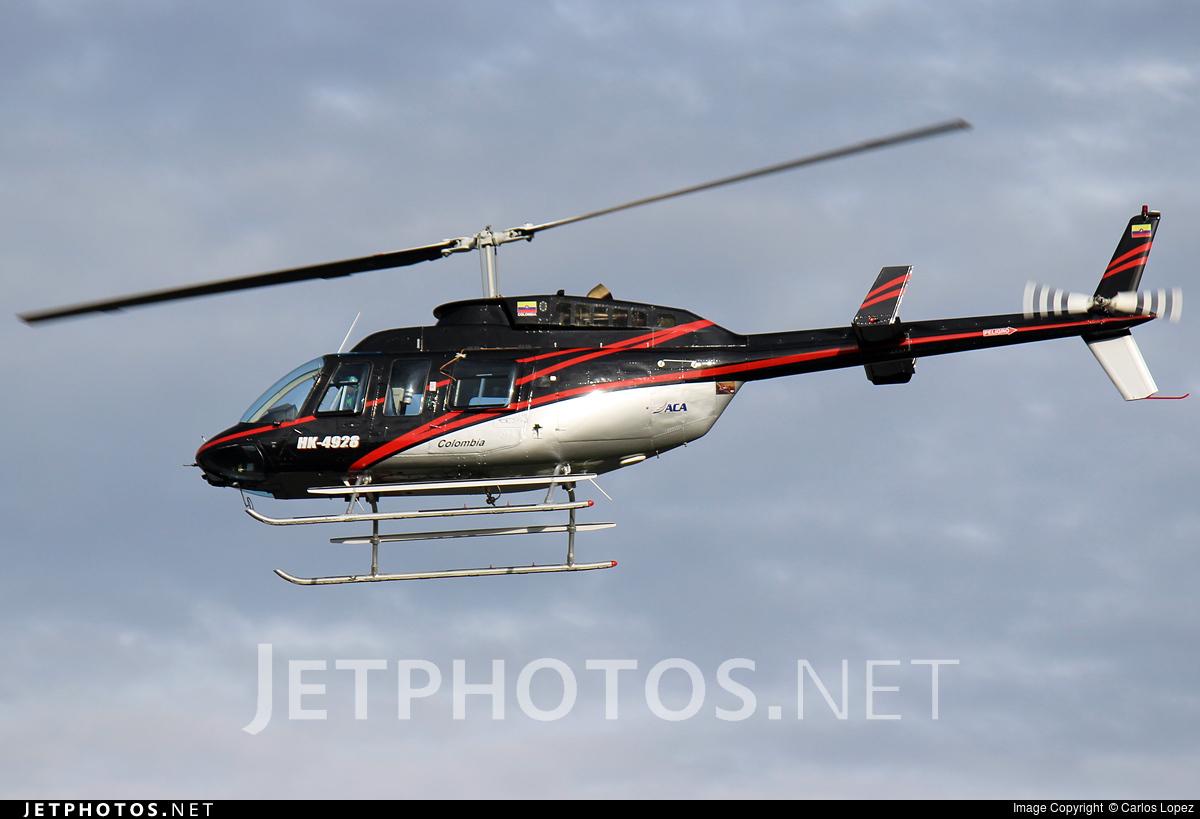 HK-4928 - Bell 206L-1 LongRanger - ACA AeroCharter Andina