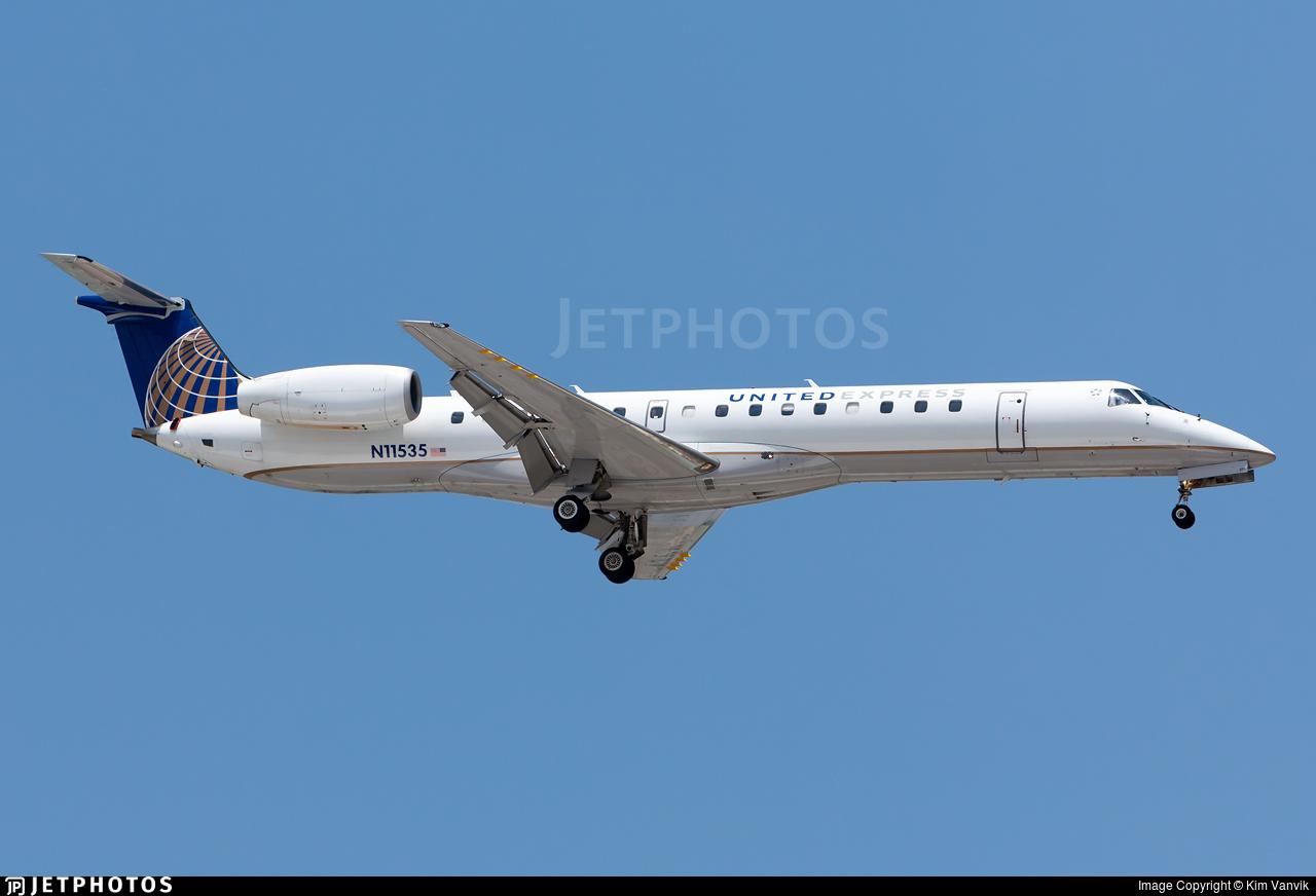 N11535 - Embraer ERJ-145LR - United Express (ExpressJet Airlines)