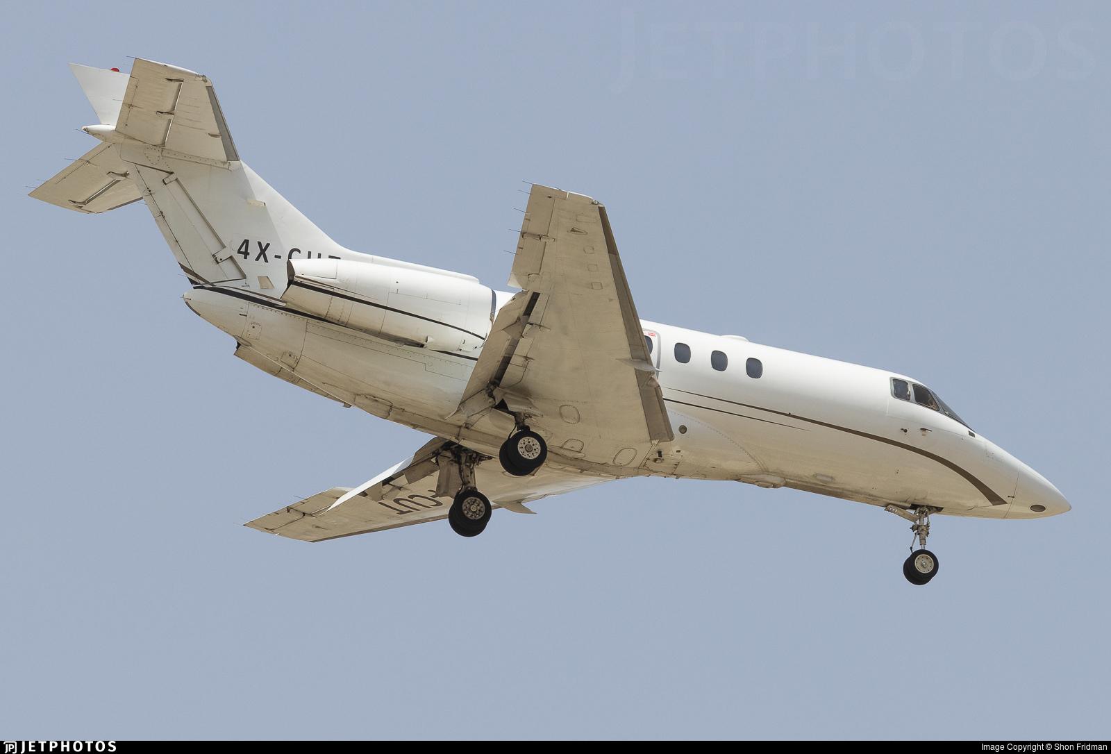 4X-CUT - Raytheon Hawker 800XP2 - Private