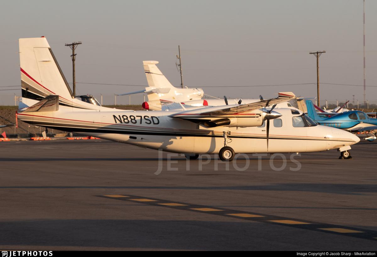 N887SD - Gulfstream Aerospace 695B Jetprop 1000 - Private