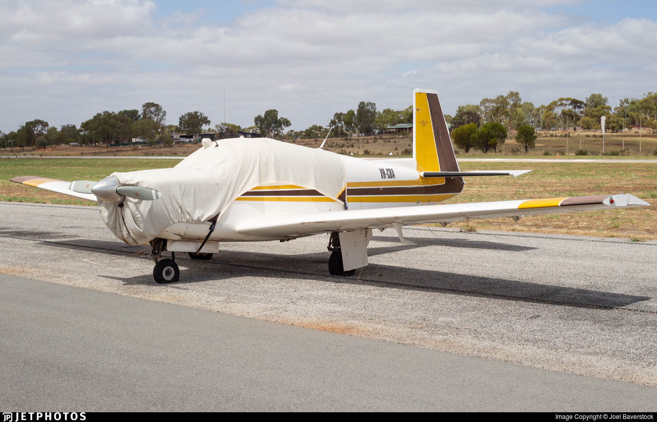 VH-CBA - Mooney M20E - Private