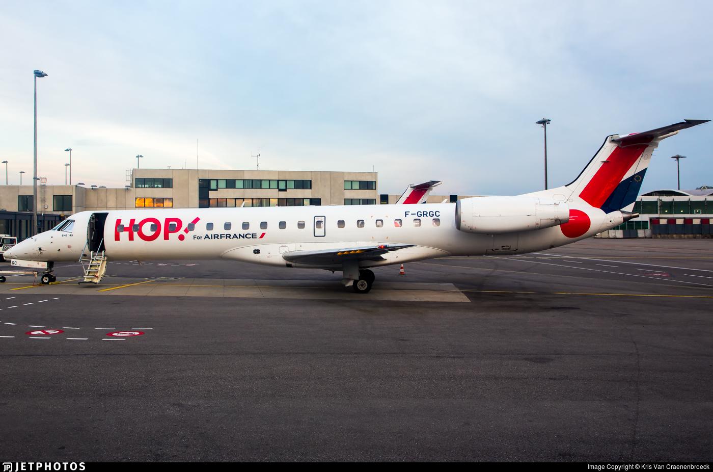 F-GRGC - Embraer ERJ-145EP - HOP! for Air France