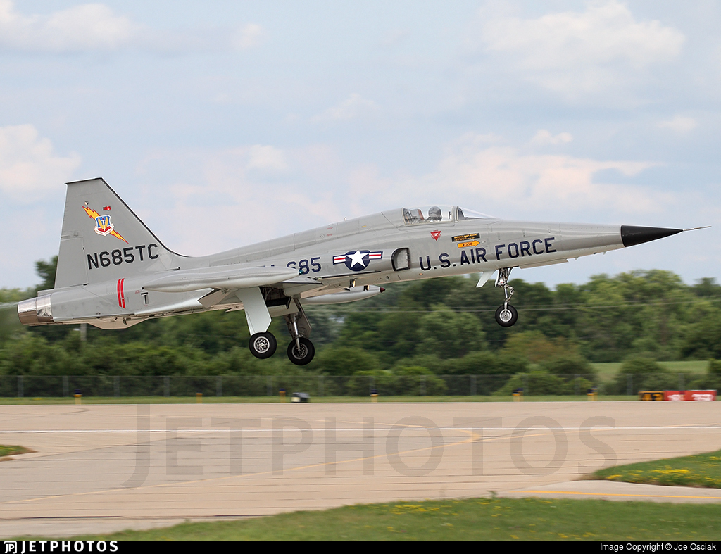 N685TC - Northrop F-5A Freedom Fighter - Private