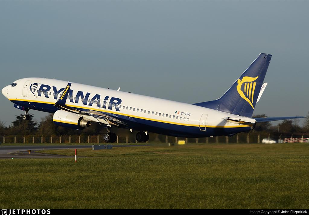 EI-ENT - Boeing 737-8AS - Ryanair