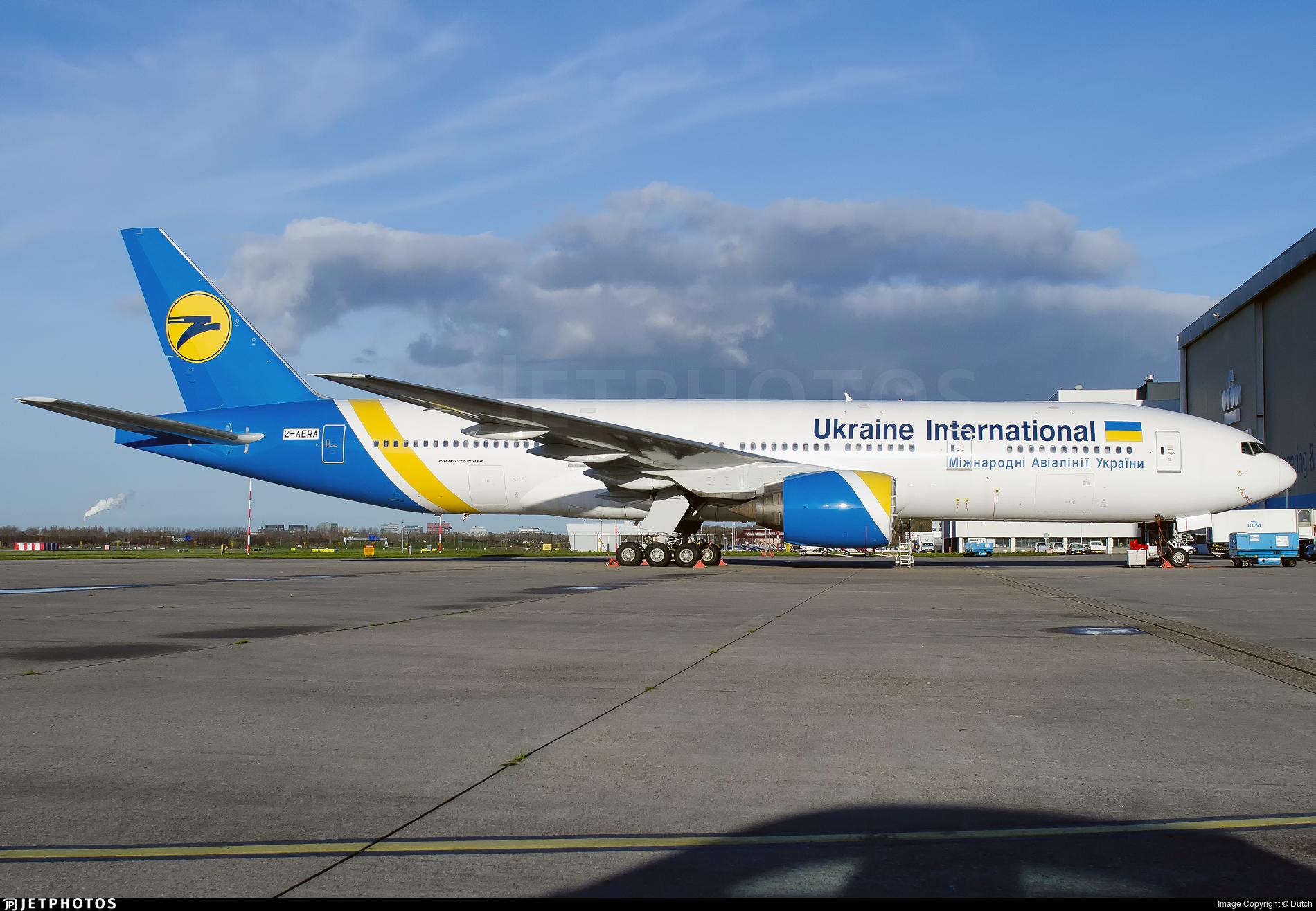 2-AERA - Boeing 777-28E(ER) - Ukraine International Airlines